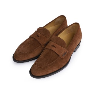 S1061X Basic Loafer Suede - Brown
