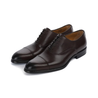 T695 Straight-tip Oxford Shoe - Dark Brown