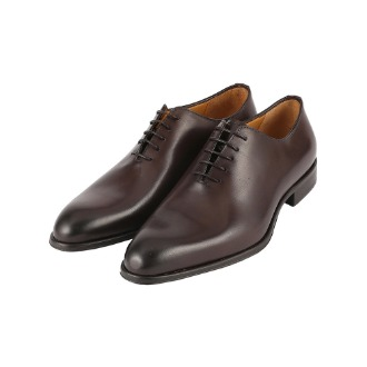 T600 Basic Oxford Shoe - Dark Brown