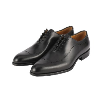 T688 Brogue Oxford Shoe - Black