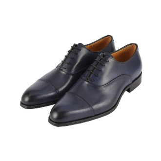 T695 Straight-tip Oxford Shoe - Blue