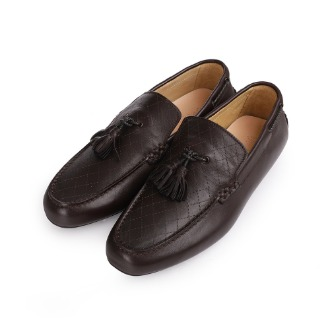 S1067X Tassel Detail Driving Shoe - Dark Brown
