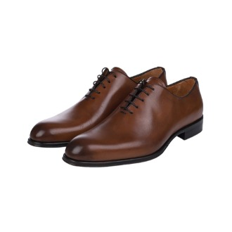 T600 Basic Oxford Shoe - Brown