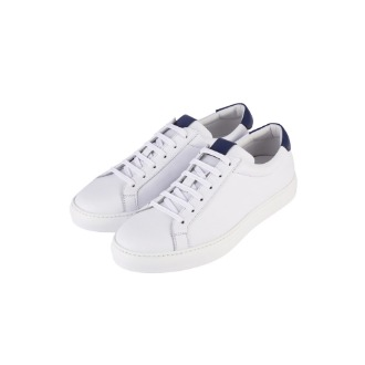 New La Vera Sneakers - White/Blue Combo