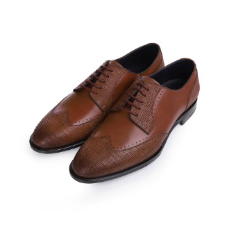 S1046X Wing-tip Derby Shoe - Brown